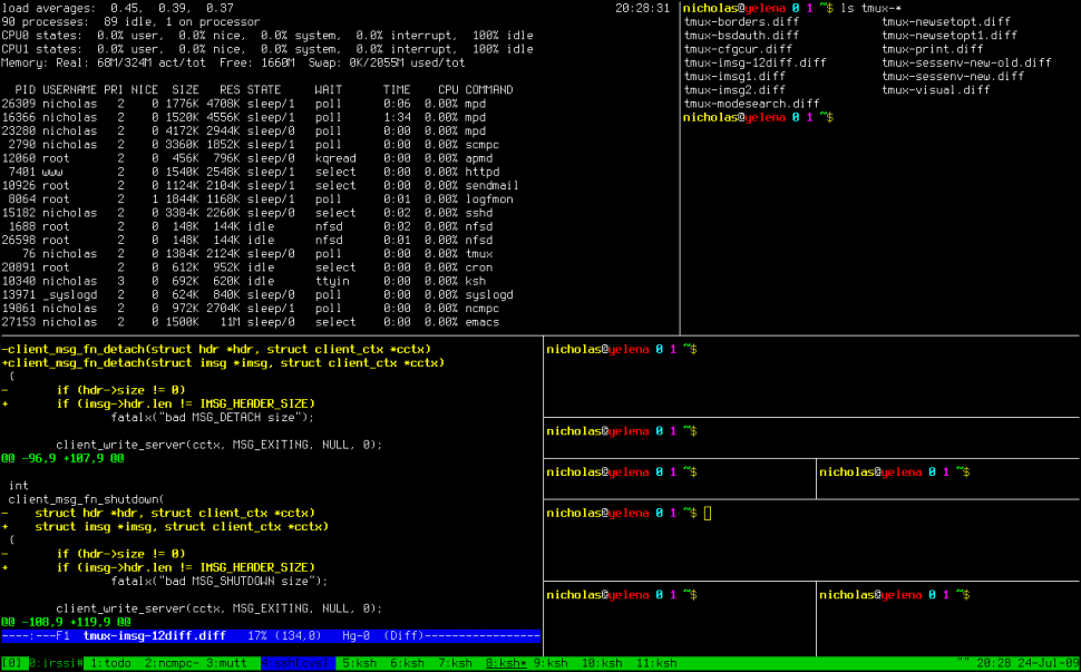 Install and use tmux on CentOS • LinuxCloudVPS Blog