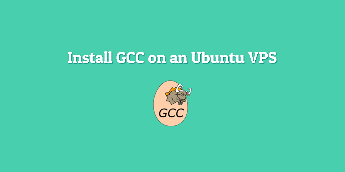 install gcc on ubuntu