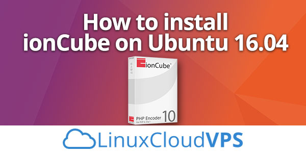 How to install ionCube on Ubuntu 16.04