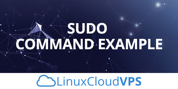 sudo command example