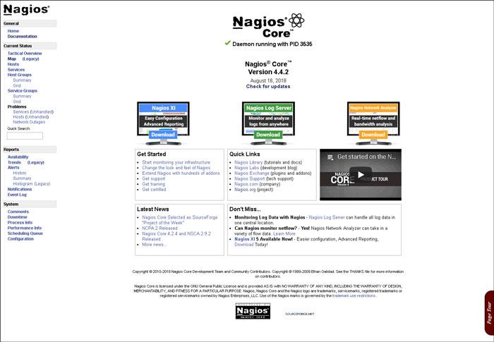 install nagios on debian 9