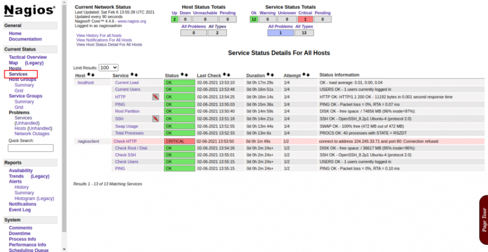 monitor your servers with nagios 4 on ubuntu 20.04