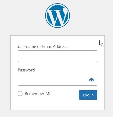 hide worpress login page